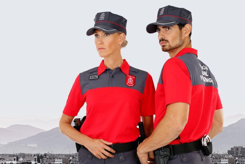 Uniformes sostenibles Policía Foral de Navarra