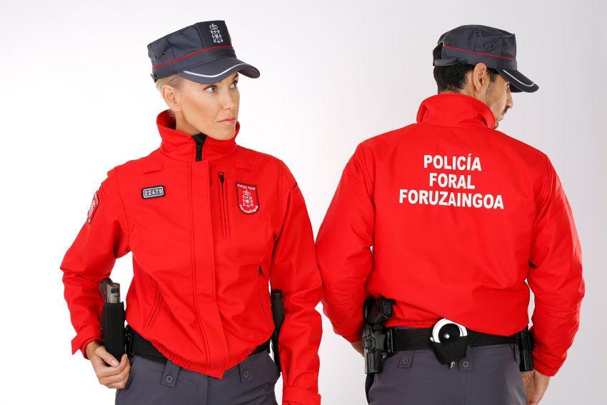 Uniformes insigna Policía Foral de Navarra