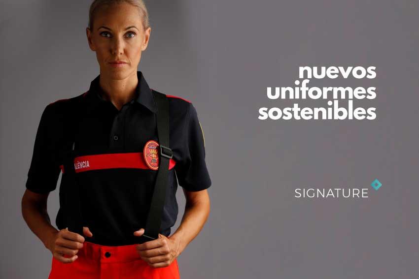 uniforme bomberos Valencia