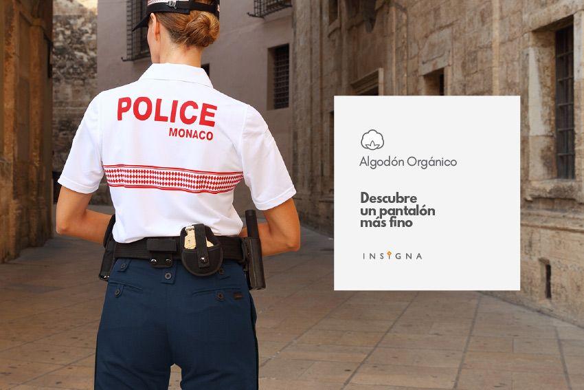 Pantalón Policia algodon organico